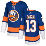Wholesale Cheap Adidas Islanders #13 Mathew Barzal Royal Blue Home Authentic Stitched Youth NHL Jersey