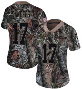 Wholesale Cheap Nike Saints #17 Emmanuel Sanders Camo Women's Stitched NFL Limited Rush Realtree Jersey