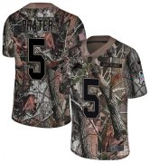 Wholesale Cheap Nike Lions #5 Matt Prater Camo Youth Stitched NFL Limited Rush Realtree Jersey