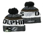 Wholesale Cheap Miami Dolphins Beanies Hat 3