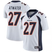 Wholesale Cheap Nike Broncos #27 Steve Atwater White Youth Stitched NFL Vapor Untouchable Limited Jersey