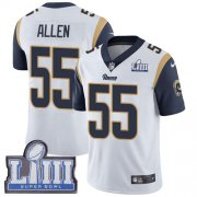 Wholesale Cheap Nike Rams #55 Brian Allen White Super Bowl LIII Bound Men's Stitched NFL Vapor Untouchable Limited Jersey