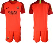 Wholesale Cheap Roma Blank Red Goalkeeper Soccer Club Jersey