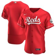 Wholesale Cheap Cincinnati Reds Men's Nike Scarlet Authentic Alternate Team MLB Jersey