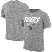 Wholesale Cheap Detroit Tigers Nike Authentic Collection Velocity Team Issue Performance T-Shirt Gray