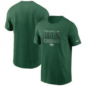 Wholesale Cheap New York Jets Nike Team Property Of Essential T-Shirt Green