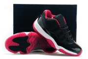 Wholesale Cheap Air Jordan 11 Low BRED Shoes Black/bred