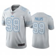 Wholesale Cheap Buffalo Bills #99 Harrison Phillips White Vapor Limited City Edition NFL Jersey