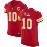 Wholesale Cheap Nike Chiefs #10 Tyreek Hill Red Team Color Men's Stitched NFL Vapor Untouchable Elite Jersey
