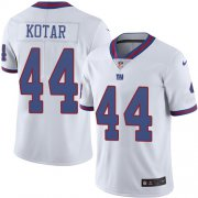 Wholesale Cheap Nike Giants #44 Doug Kotar White Men's Stitched NFL Limited Rush Jersey