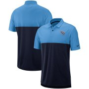 Wholesale Cheap Tennessee Titans Nike Sideline Early Season Performance Polo Light Blue Navy