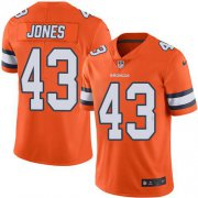 Wholesale Cheap Nike Broncos #43 Joe Jones Orange Youth Stitched NFL Limited Rush Jersey