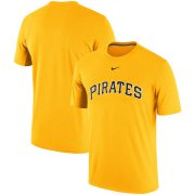 Wholesale Cheap Pittsburgh Pirates Nike Batting Practice Logo Legend Performance T-Shirt Gold