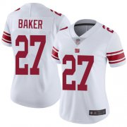 Wholesale Cheap Nike Giants #27 Deandre Baker White Women's Stitched NFL Vapor Untouchable Limited Jersey