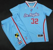 Wholesale Cheap Los Angeles Clippers #32 Blake Griffin Blue Revolution 30 Swingman NBA Jerseys Short Suits 2013 New Style