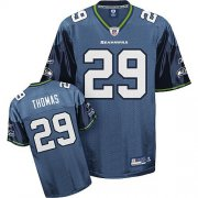 Wholesale Cheap Seahawks #29 Earl Thomas Blue Stitched NFL Jersey