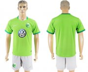 Wholesale Cheap Wolfsburg Blank Home Soccer Club Jersey