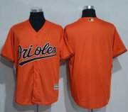 Wholesale Cheap Orioles Blank Orange New Cool Base Stitched MLB Jersey