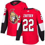 Wholesale Cheap Adidas Senators #22 Nikita Zaitsev Red Home Authentic Stitched NHL Jersey