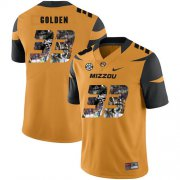 Wholesale Cheap Missouri Tigers 33 Markus Golden Gold Nike Fashion College Football Jersey
