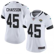 Wholesale Cheap Nike Jaguars #45 K'Lavon Chaisson White Women's Stitched NFL Vapor Untouchable Limited Jersey