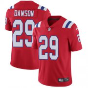 Wholesale Cheap Nike Patriots #29 Duke Dawson Red Alternate Men's Stitched NFL Vapor Untouchable Limited Jersey