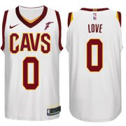 Wholesale Cheap Nike NBA Cleveland Cavaliers #0 Kevin Love Jersey 2017-18 New Season White Jersey