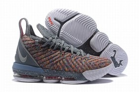 Wholesale Cheap Nike Lebron James 16 Air Cushion Shoes Gary Rainbow
