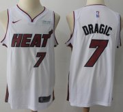Wholesale Cheap Nike Miami Heat #7 Goran Dragic White NBA Swingman Association Edition Jersey