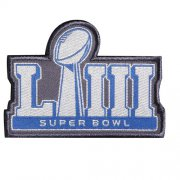 Wholesale Cheap Stitched NFL 2019 Super Bowl LIII Jersey Patch