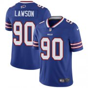 Wholesale Cheap Nike Bills #90 Shaq Lawson Royal Blue Team Color Youth Stitched NFL Vapor Untouchable Limited Jersey