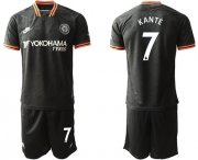 Wholesale Cheap Chelsea #7 Kante Third Soccer Club Jersey