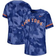 Wholesale Cheap New York Mets Nike Camo Jersey Royal