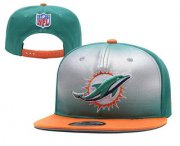 Wholesale Cheap Miami Dolphins Snapback Ajustable Cap Hat YD