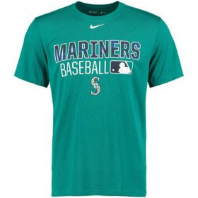 Wholesale Cheap Seattle Mariners Nike 2016 AC Legend Team Issue 1.6 T-Shirt Teal
