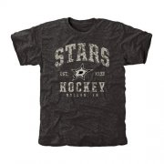 Wholesale Cheap Men's Dallas Stars Black Camo Stack T-Shirt