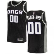 Wholesale Cheap Women's Sacramento Kings #00 Willie Cauley-Stein Black Basketball Swingman Statement Edition Jersey