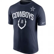 Wholesale Cheap Dallas Cowboys Nike Legend Icon Performance T-Shirt Navy Blue