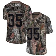 Wholesale Cheap Nike Buccaneers #35 Jamel Dean Camo Men's Stitched NFL Limited Rush Realtree Jersey