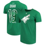 Wholesale Cheap Arizona Coyotes #19 Shane Doan Reebok St. Patrick's Day Name & Number T-Shirt Green