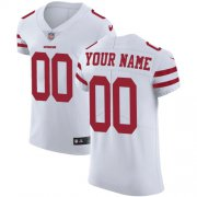 Wholesale Cheap Nike San Francisco 49ers Customized White Stitched Vapor Untouchable Elite Men's NFL Jersey