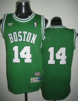 Wholesale Cheap Boston Celtics #14 Bob Cousy Green Swingman Throwback Jersey