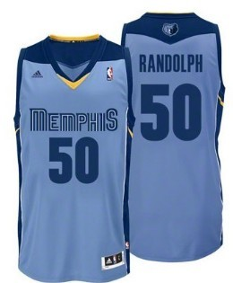 Wholesale Cheap Memphis Grizzlies #50 Zach Randolph Light Blue Swingman Jersey