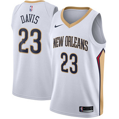 Wholesale Cheap Nike New Orleans Pelicans #23 Anthony Davis White NBA Swingman Association Edition Jersey