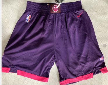 Wholesale Cheap Timberwolves Purple City Edition Nike Swingman Shorts