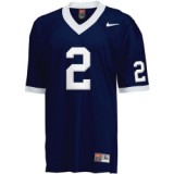 Wholesale Cheap Penn State Nittany Lions #2 Navy Blue Jersey