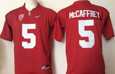 Wholesale Cheap Stanford Cardinal 5 Christian McCaffrey Red College Football Jersey