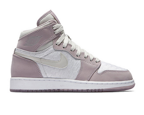 Wholesale Cheap Womens Air Jordan 1 High HC GS Shoes Cherry blossoms pink/white